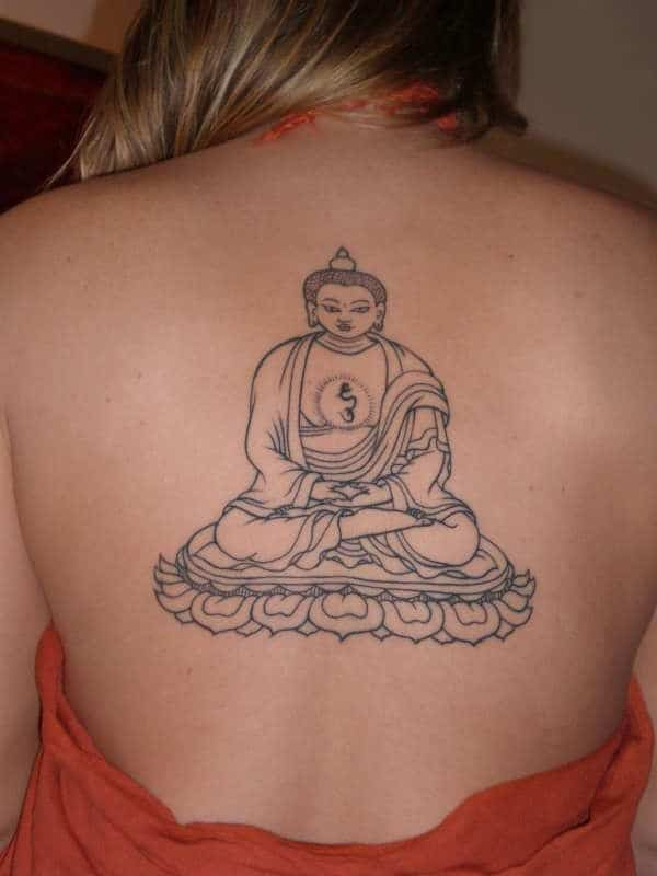 Cute Religious Buddha Tattoos for Girls 2016