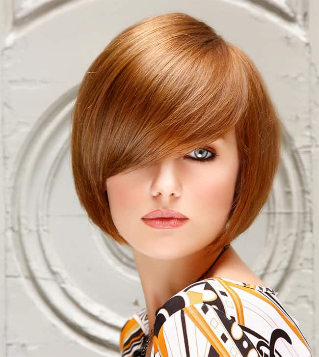 Cute Rounded Face Bob Hairstyle Ideas 2016