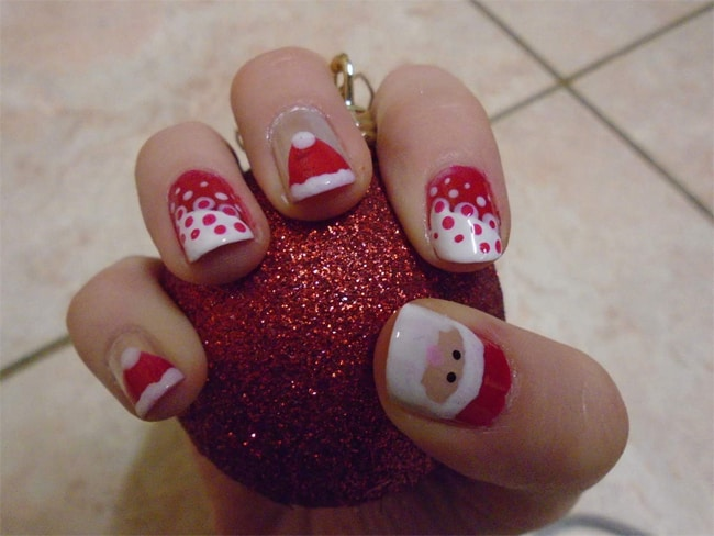 Dazzling Holiday Inspired Nail Art for Christmas