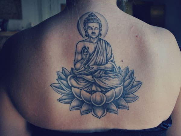 Elegant Buddha Tattoo Drawings Photos