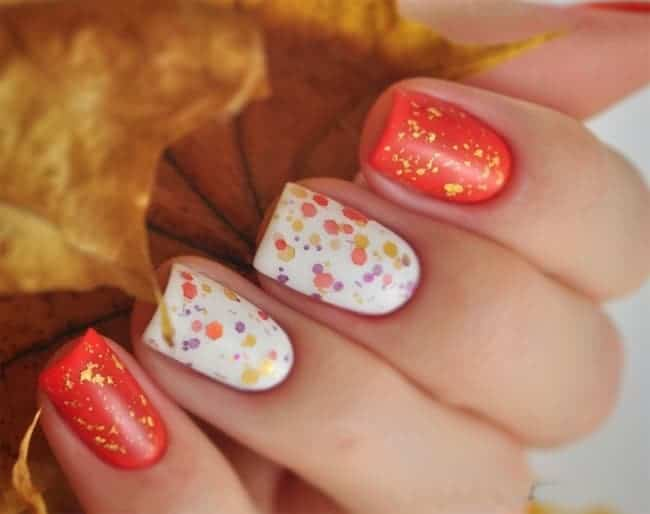 Excellent Easy Fall Nail Art Ideas for Wedding 2016-17
