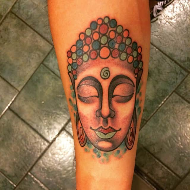 fifteen awesome buddha tattoos for women sheideas. Black Bedroom Furniture Sets. Home Design Ideas
