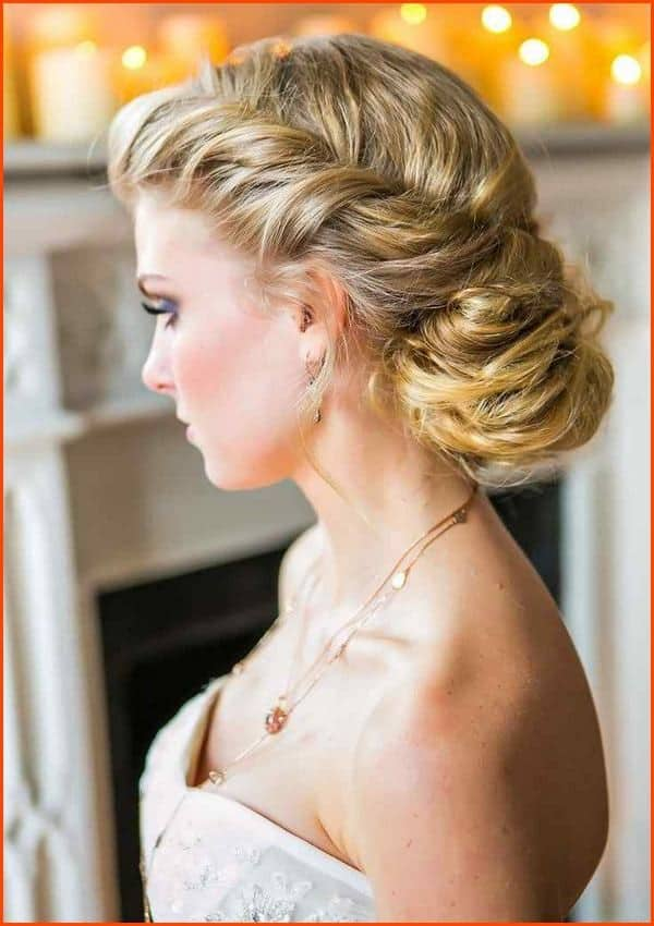 Fantastic Evening Hairstyles Fashion for Round Faces