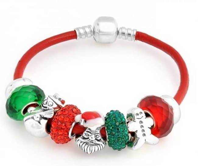 Fresh Christmas Charms Bracelet Jewelry Designs