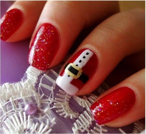 Fresh Pictures of Nail Art Christmas for Ladies
