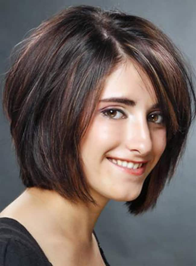 Girls Layered Bob Hairstyle for Short Hair 2016
