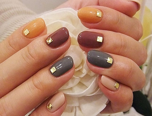 Great Simple Fall Nail Designs 2016