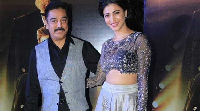 Kamal Hassan Daughter Shruti Hassan