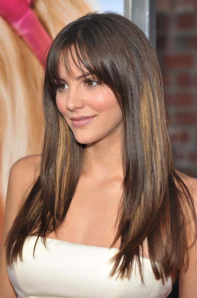 Katherine McPhee Hairstyles for Long Face