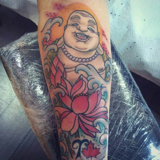 Latest Buddha Tattoos Designs for Girls