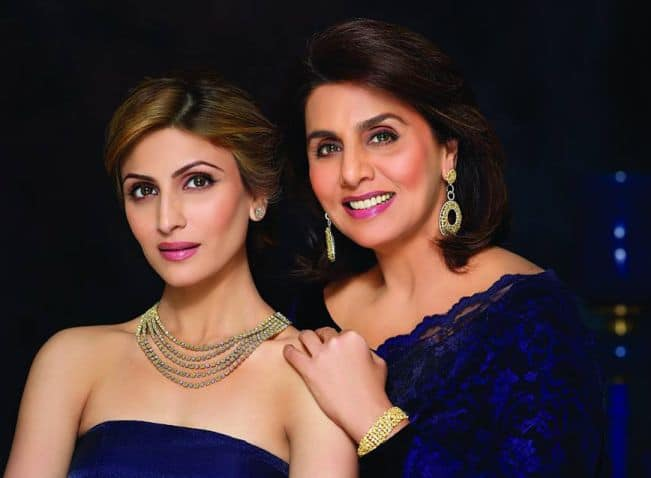 Neetu Kapoor and Riddhima Kapoor - Daughters of Bollywood Celebrities