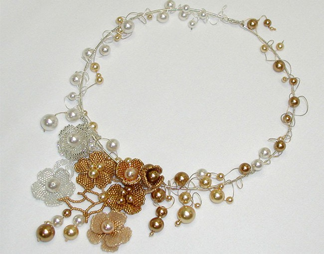New Beaded Bridal Necklaces Jewellery for New Year