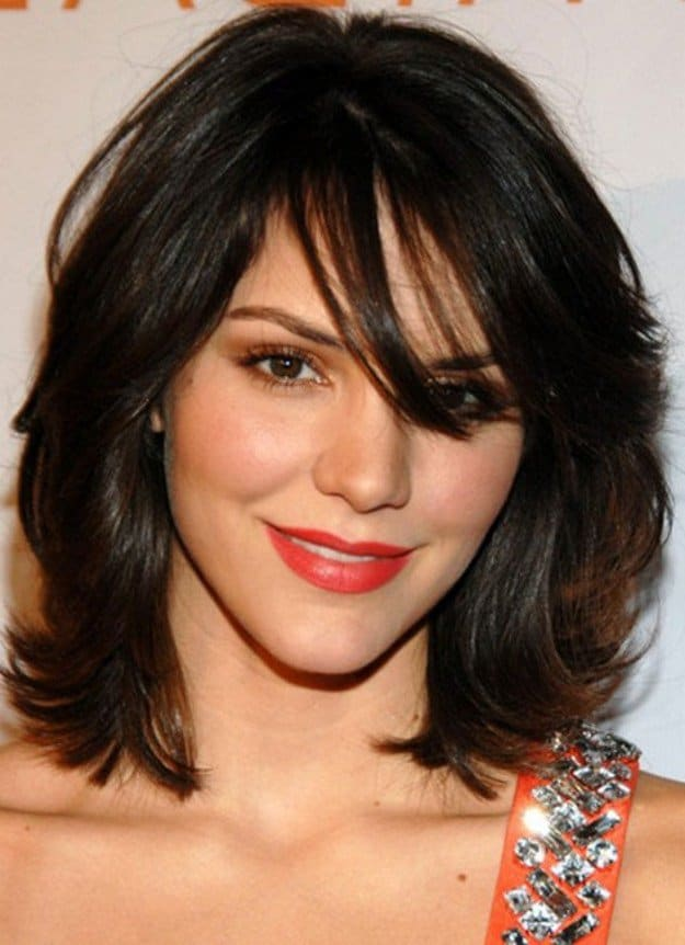 New Year Medium Choppy Hairstyles for Thick Hair
