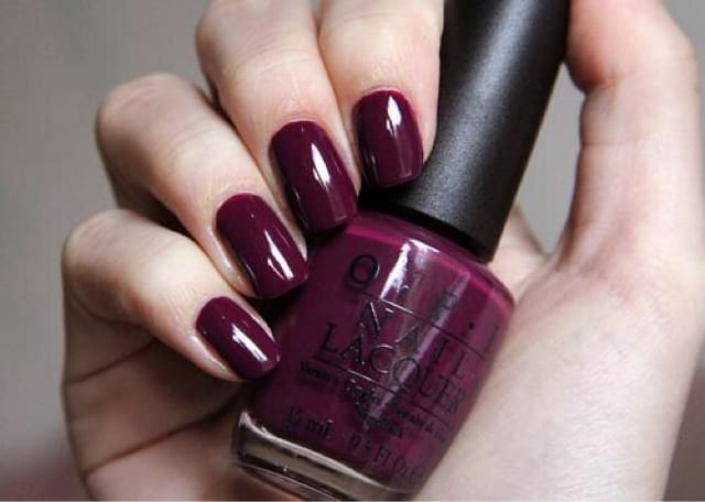 Outstanding Maroon Nail Design Ideas for Girls