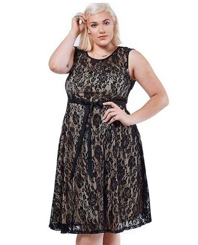 Plus Size Women Christmas Day Dresses 2016