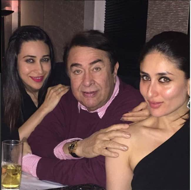 Randhir Kapoor Daughter Karishma and Kareena Kapoor