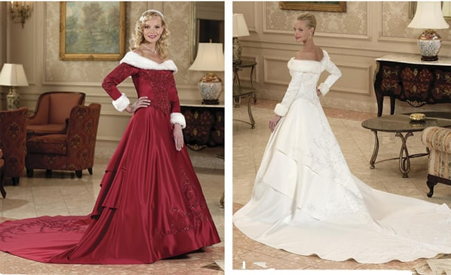 Splendid Wedding Dresses for Christmas