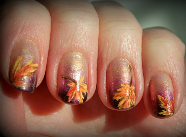 Stunning Autumn Nail Art Ideas for Winter