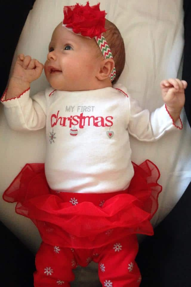 Stylish Newborn Christmas Dress Designs