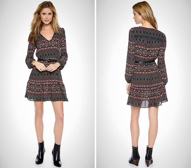 Stylish Slate Knit Dress for Fall