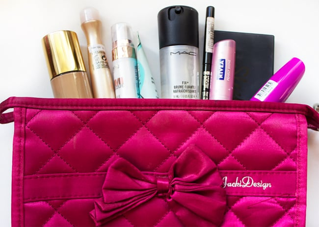 Stylish Wedding Makeup Bag for Makeup Accessories
