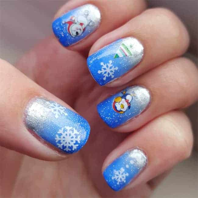 Superlative Christmas Nail Art Designs for Winter