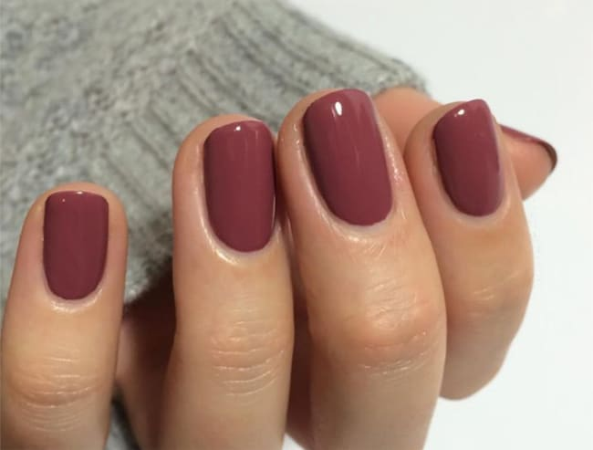 Unique Maroon Nail Designs for Brides 2018
