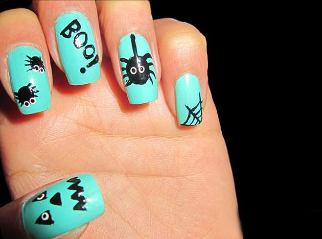 amazing-minute-halloween-nail-designs-for-girls
