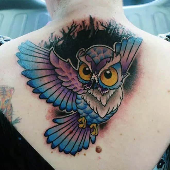 amazing-owl-cover-up-tattoos-art-for-women-back