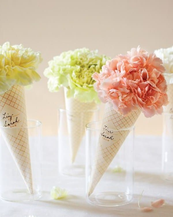 Amazing Table Flower Decorations for Wedding