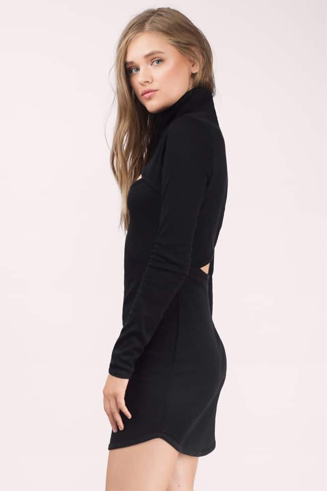 black-aden-rib-knit-turtle-neck-dresses-for-winter