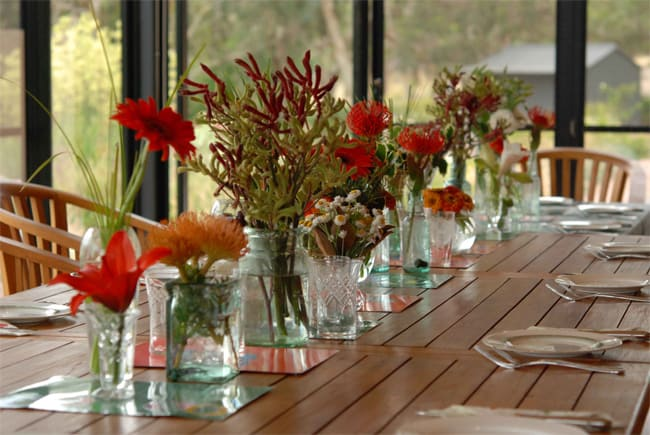 Christmas Table Flower Arrangements Ideas