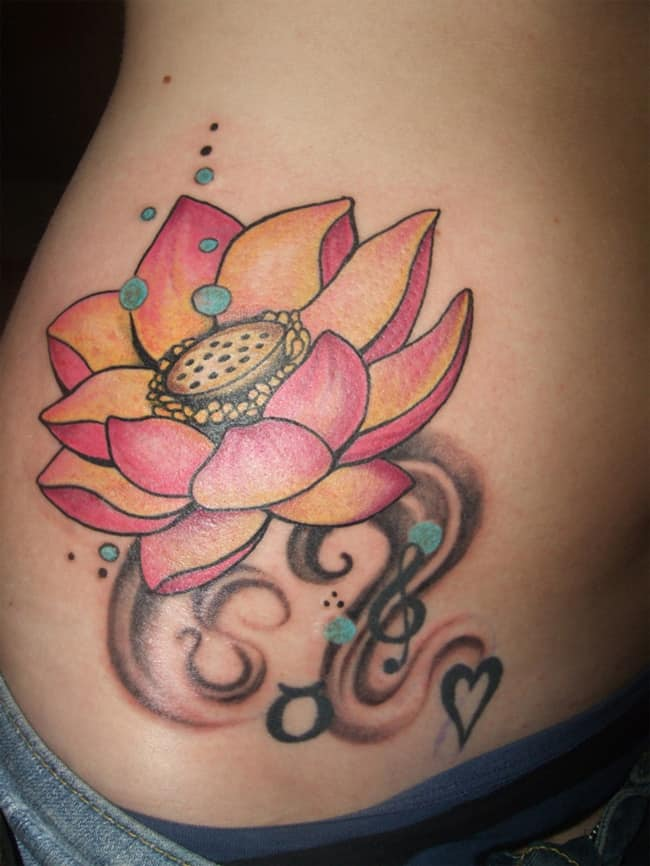 creative-lotus-flower-tattoos-designs-for-girls