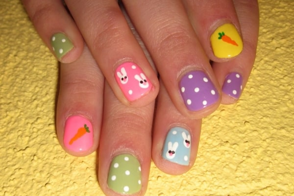 cute-child-girls-nail-art-pictures-for-happy-birth-day