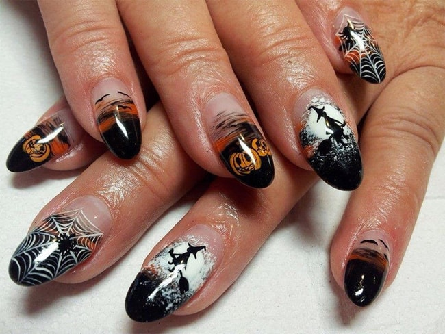 22 Attention-Grabbing Halloween Nail Art Ideas – SheIdeas