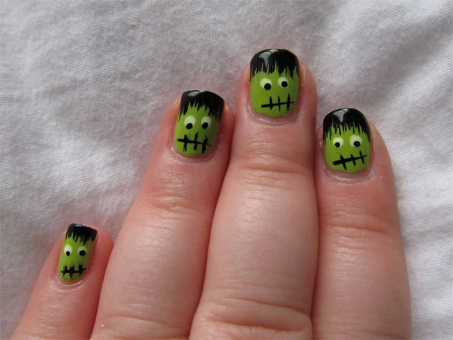 fantastic-short-nail-designs-for-halloween-2016-17