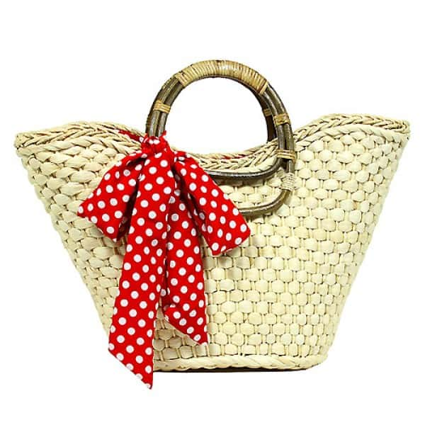 Fantastic Straw Bucket Tote for Girls 2016-17