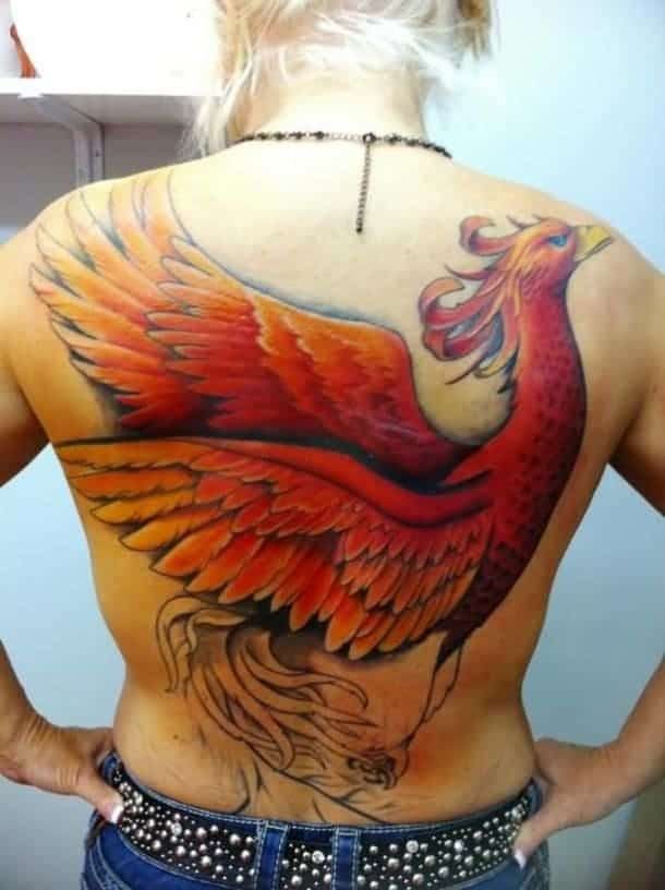 full-back-cover-up-with-angry-phoenix-bird-tattoos