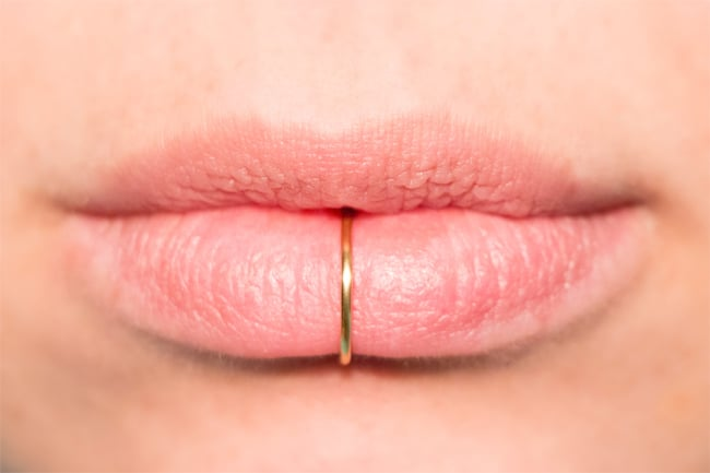 13 most amazing lip piercing jewelry pictures sheideas - Lippenpiercing ring ...