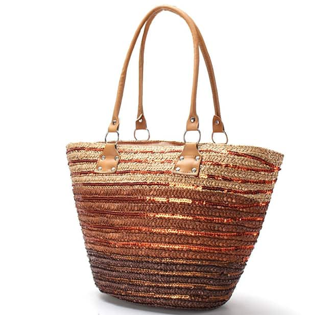 Latest Summer Beach Straw Shoulder Handbags