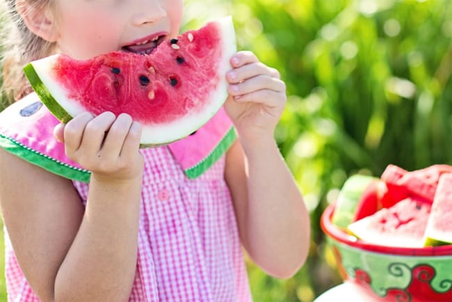 little-girl-eating-watermelon