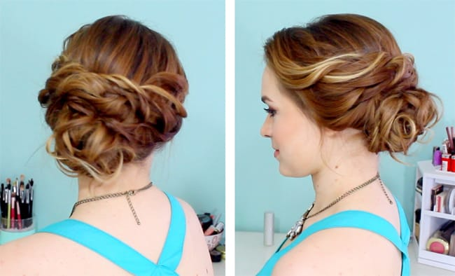 simple-bridal-hairstyle-for-graduation-ball