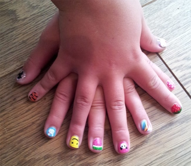 simple-and-easy-nail-art-for-kids-2016