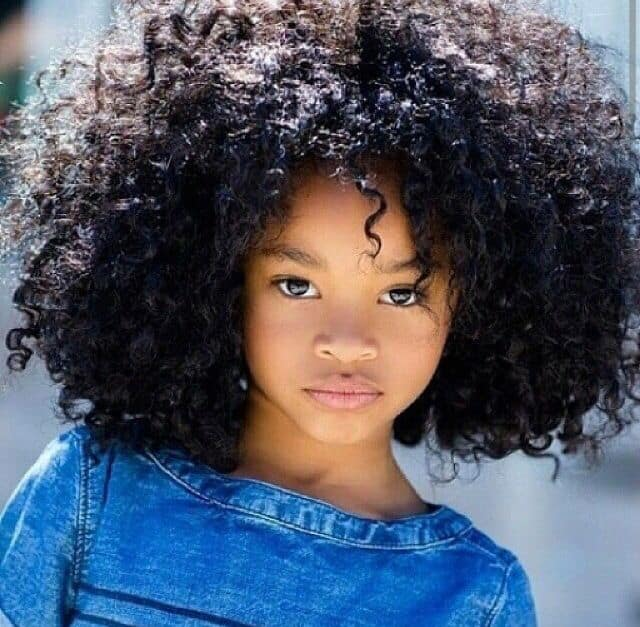 Hairstyles For Curly Hair Child : Cool afro hairstyles pictures for ladies sheideas