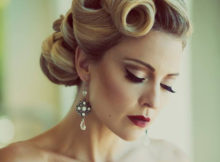 stunning-vintage-short-hairstyles-for-weddings