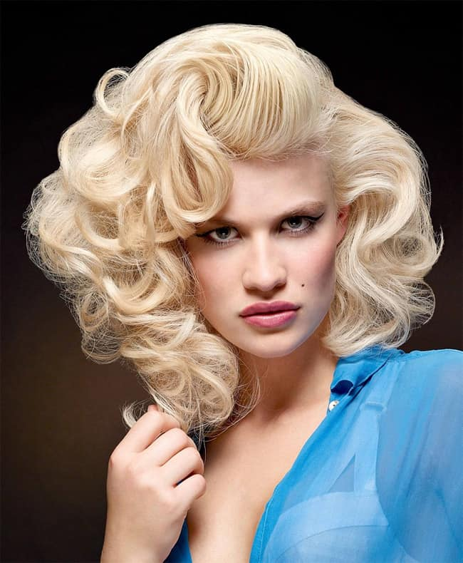 20 Easy and Simple Vintage Hairstyles Pictures – SheIdeas