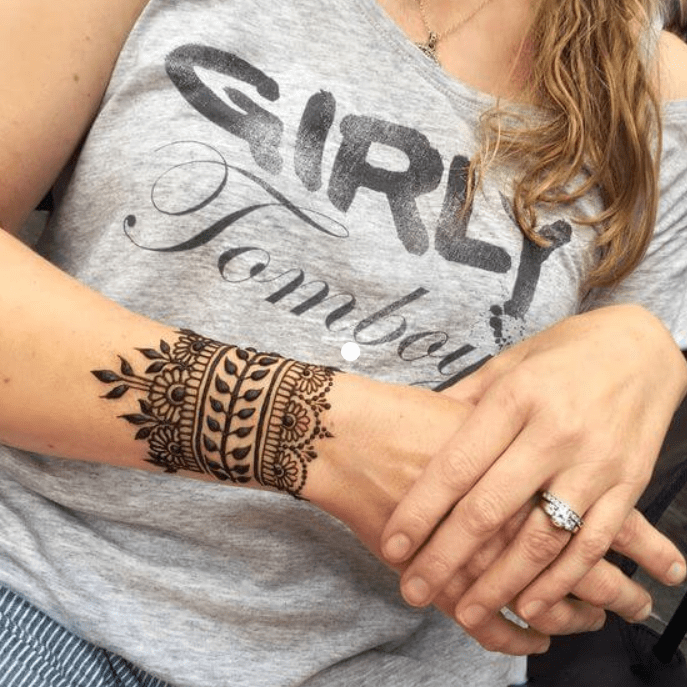 Henna Tattoo Hand Wrist: 22 Superlative Mehndi Tattoo Designs For Ladies