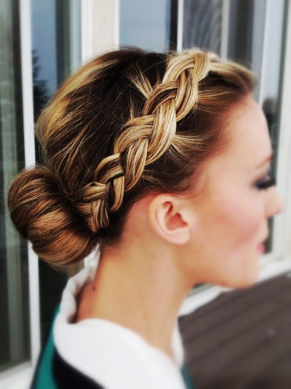 Tremendous Quick French Braid Hairstyles Braids Hairstyle Inspiration Daily Dogsangcom