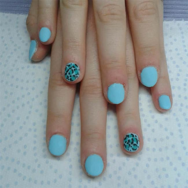 animal-printed-round-nail-designs-for-little-girls