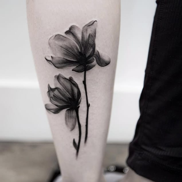 beautiful-x-ray-flower-tattoo-designs-for-arm